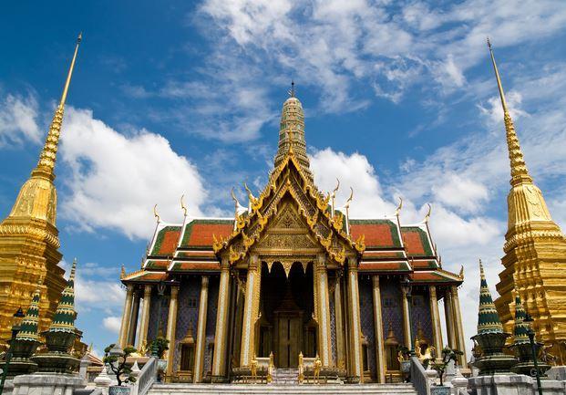 Templo Wat Phra Kaew bangkok tailandia