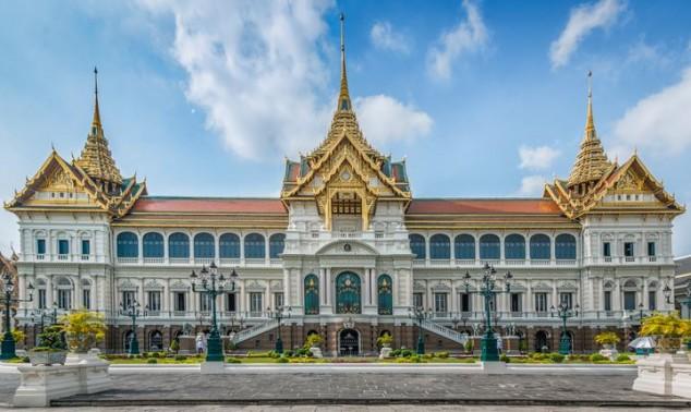 palacio de Bangkok Tailandia