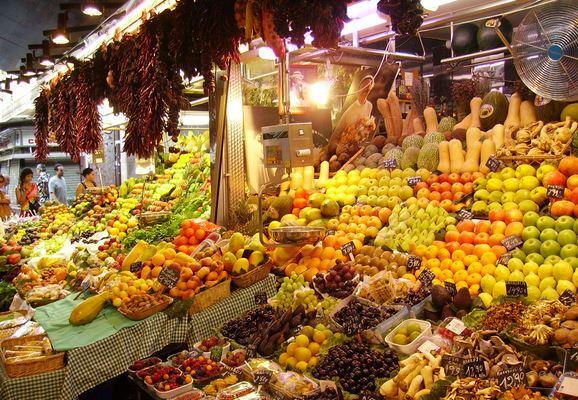 visitar el mercado