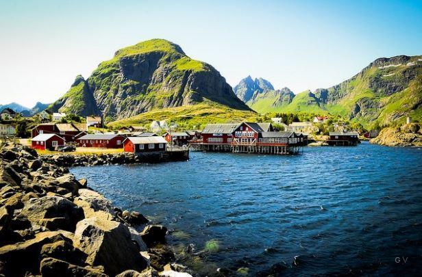 Archipiélago de Lofoten en Noruega Anomalía