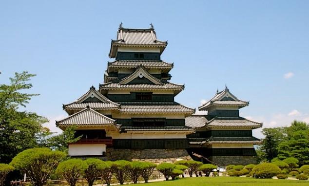 Castillo de Matsumoto japon