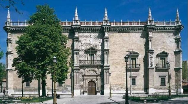 Colegia de Santa Cruz en Valladolid