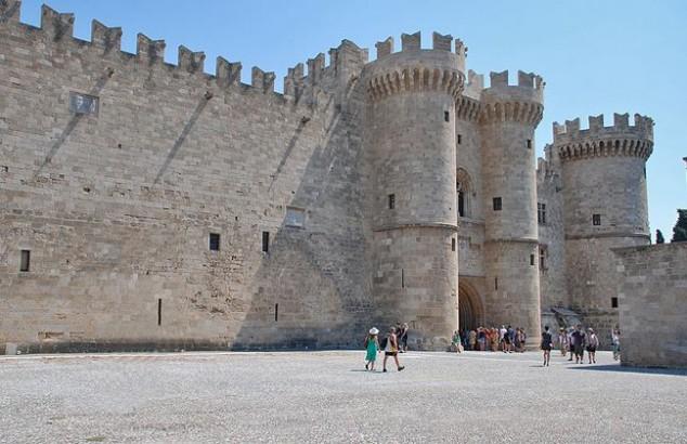 El Palacio de los Grandes Maestres de los Caballeros de Rodas