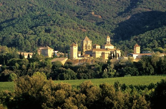 maravillas El Real Monasterio de Santa María de Poblet en Tarragona