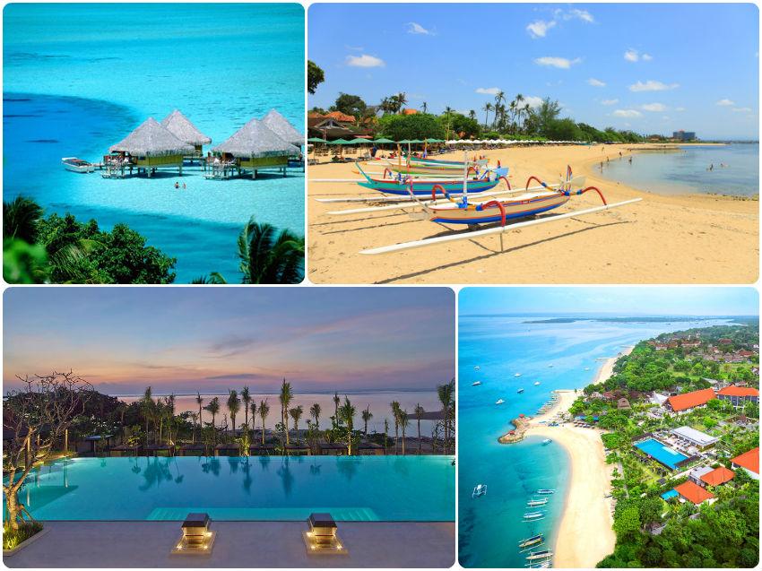 playa sanur bali indonesia