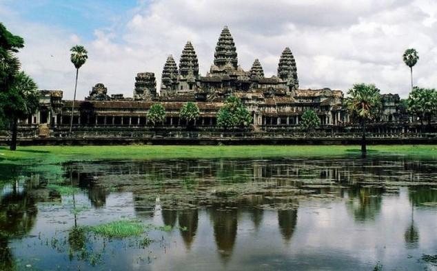 Angkor es un vasto complejo de templos en Camboya