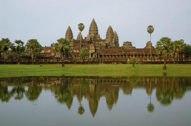 Angkor fue la capital del Imperio Khmer