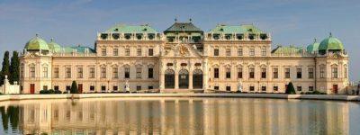 Belvedere Complex en Viena la capital de Austria