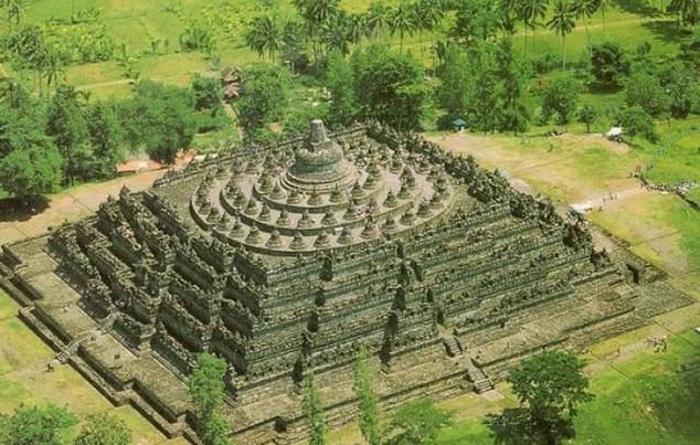 Borobudur en indonesia