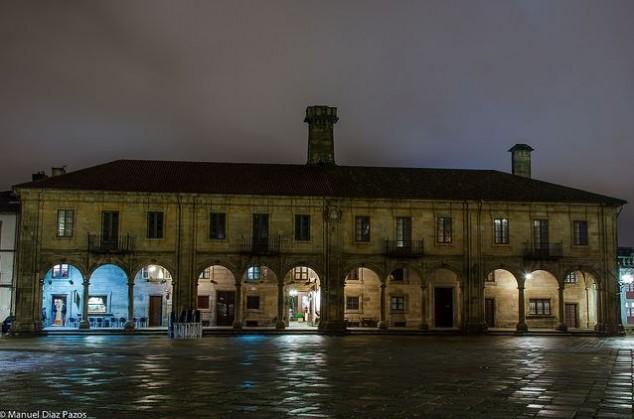 Casa da Conga en Santiago de Compostela