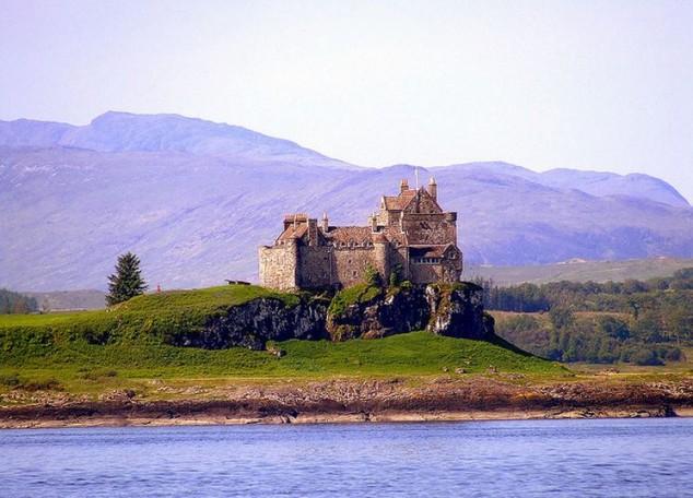 Castillo Duart de Escocia