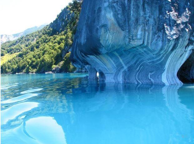 Cavernas de Mármol prehistóricos de Chile y Argentina 6