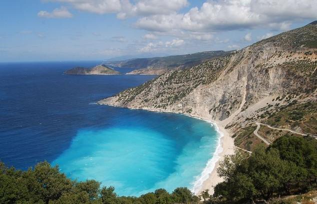 Cefalonia es la mayor de las islas Jónicas