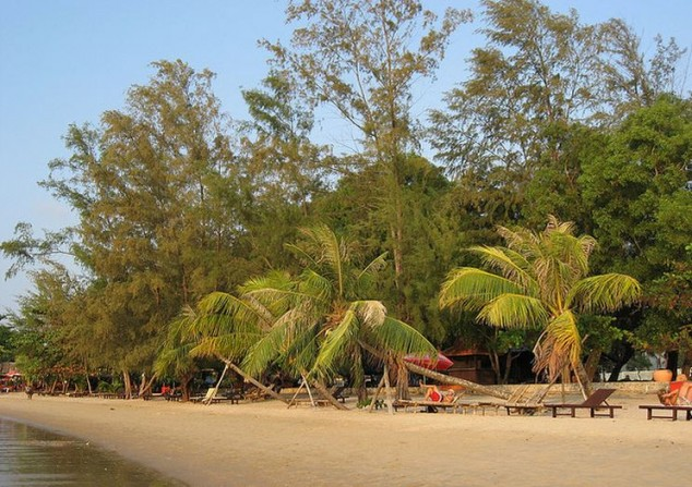 Ciudad y resort de playa Sihanoukville