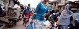 Conakry (Guinea) en la Isla Tombo, península de Kaloum