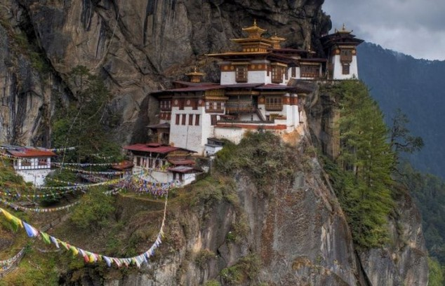 El Monasterio o Tiger Taktsang del Nido
