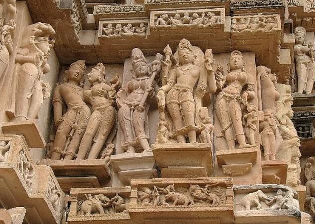 El pueblo de Khajuraho es uno de los destinos turísticos más populares en la India