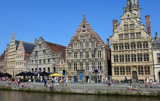 Gante es una ciudad de historia