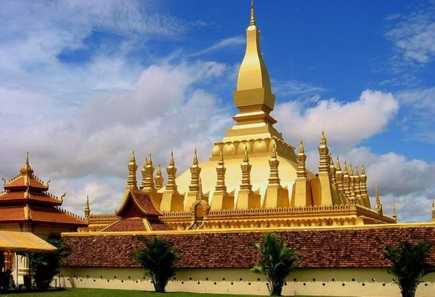 Gran Stupa en Lao