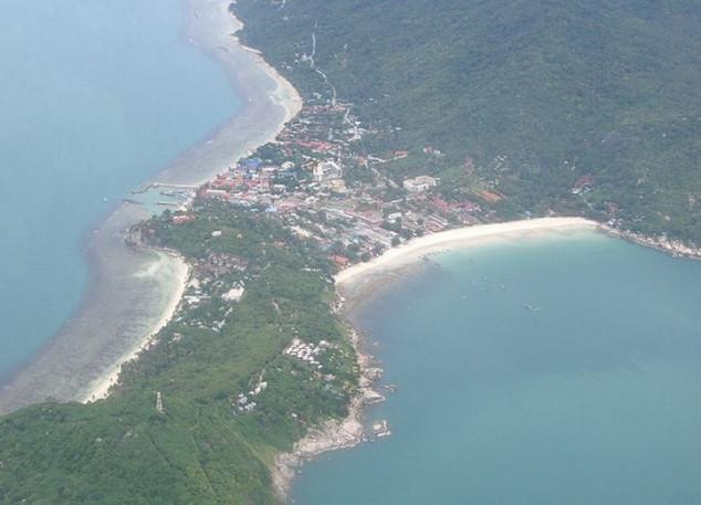 Haad Rin en la isla de Ko Phangan