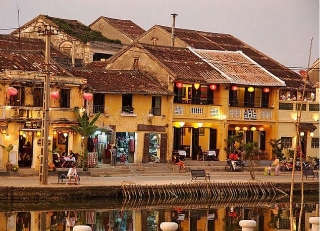 Hoi An un pueblo pesquero en Vietnam
