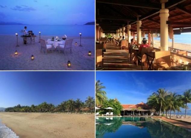 Hotel con encanto en primera línea de playa Evason Ana Mandara Nha Trang