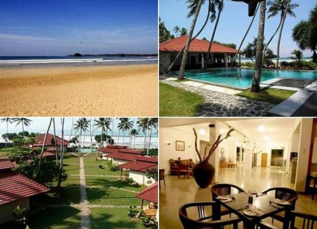 Hoteles por la playa en Sri Lanka