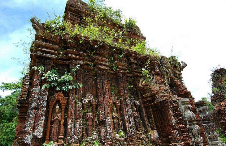 Importante yacimiento arqueológico de Vietnam conocido como Mi Hijo