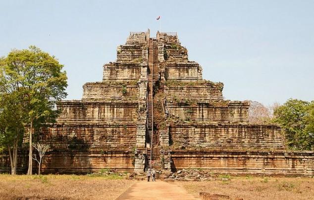 Koh Ker fue la capital del imperio Khmer