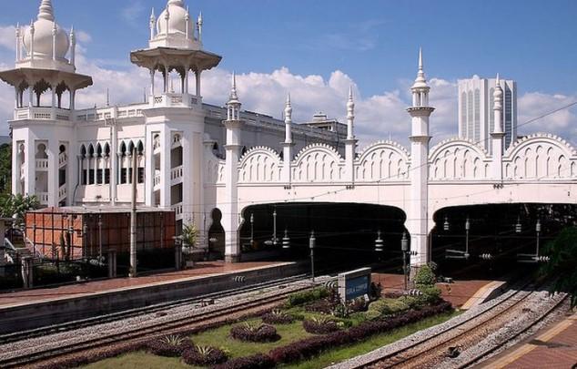 Kuala Lumpur estación de tren