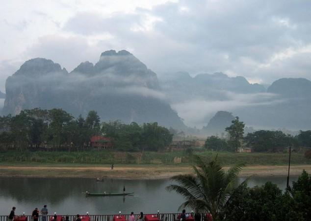 La Ciudad de Vang Vieng