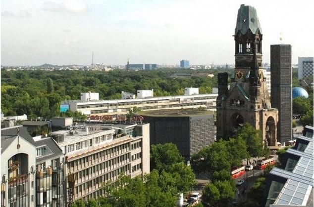 La Iglesia Memorial Kaiser Wilhelm en berlin