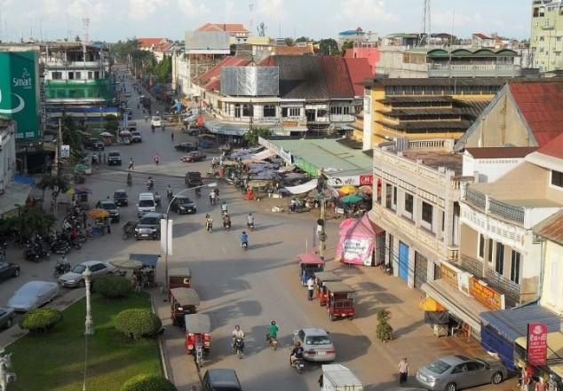 La segunda ciudad más poblada de Camboya Battambang
