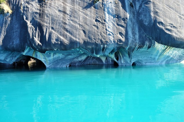 Las espectaculares Cuevas de Mármol en los Andes patagónicos2