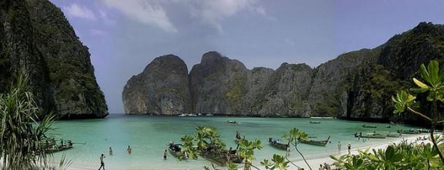 Maya Bay el lugar de la película de Leonardo DiCaprio