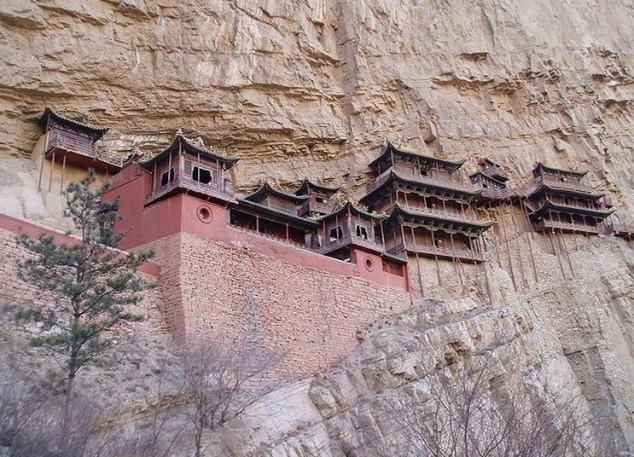 Monasterio Colgante, uno de los monumentos más notables de China