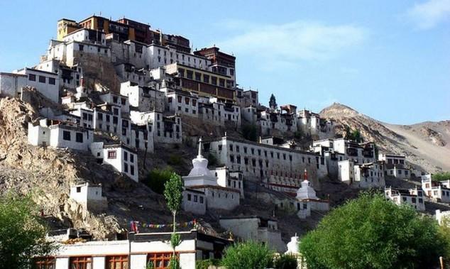 Monasterio Thikse en India