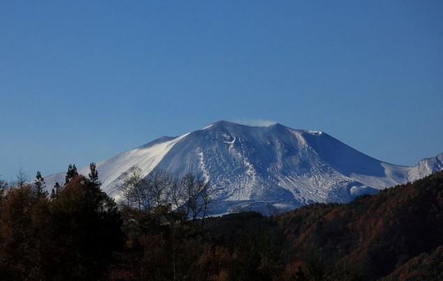 Monte Asama el volcán más activo de Honshu