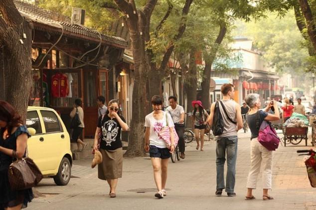 Nanluoguxiang la calle yuppie de Pekín