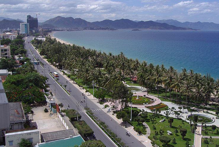 Nha Trang es un popular ciudad balneario