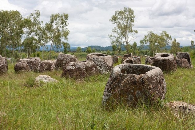 Phonsavan, colinas del paraíso