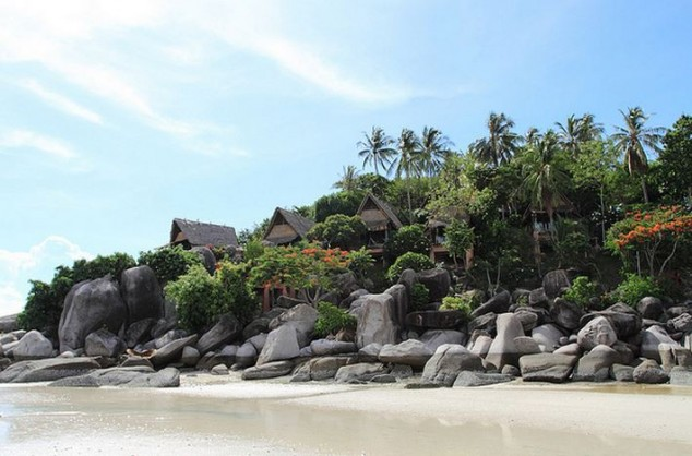 Playa Sairee en la impresionante isla de Ko Tao