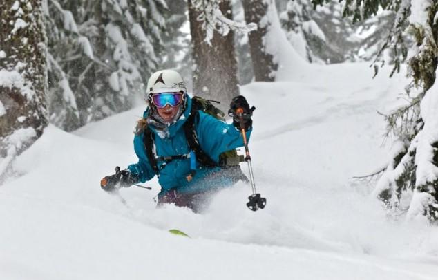 Práctica del esquí en Galicia