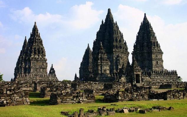 Prambanan es el complejo del templo hindú más grande