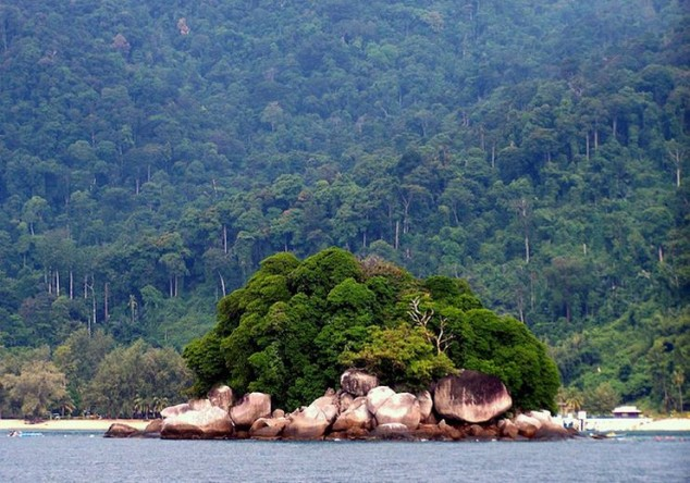 Pulau Tioman una de las islas más bellas del mundo