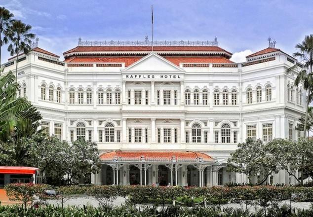 Raffles Hotel en Singapur