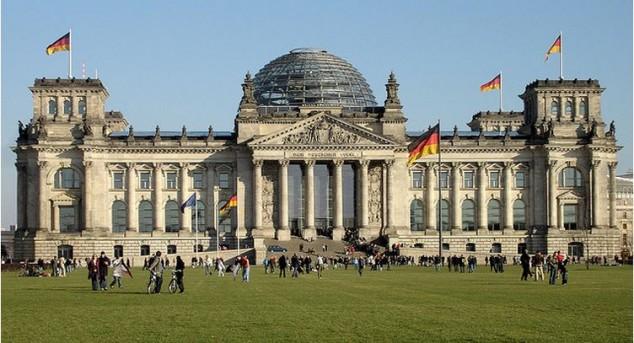 Reichstag sede del Parlamento alemán