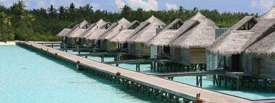 Resorts de lujo en las Maldivas