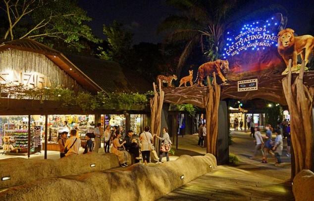 Safari nocturno en Singapur