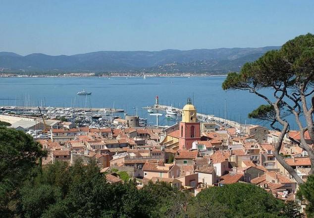 St Tropez en la costa de azul francesa